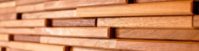 Nieuwe trend: houten wandtegels