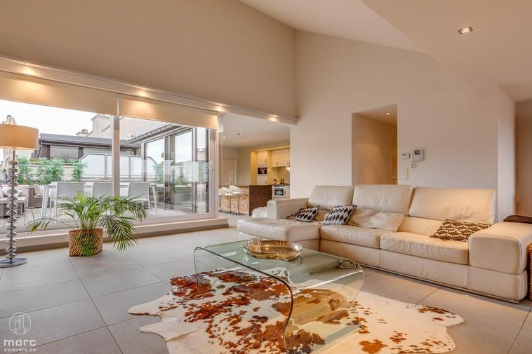 Best place to live in hartje Beringen | Prachtige penthouse, zalig terras
