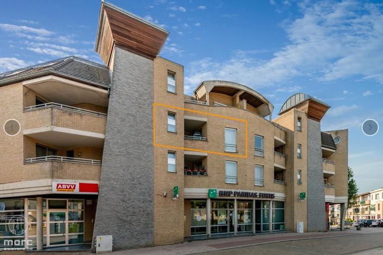 Te huur Lichtrijk & ruim appartement (100 m2) met twee slaapkamers en privatieve autostandplaats