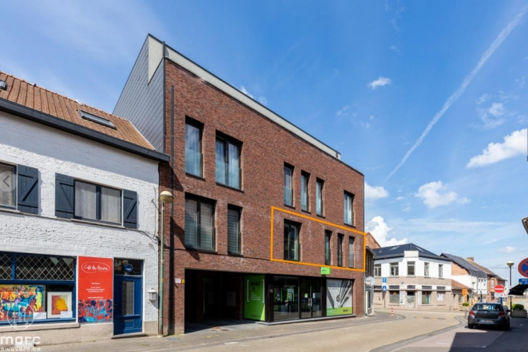 Mooi eigentijds appartement met 2 slaapkamers en ruim terras te huur in centrum Beringen