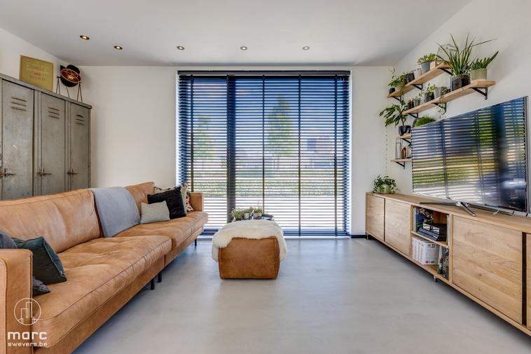 Prachtig gelijkvloers appartement met twee slaapkamers en groot terras op toplocatie