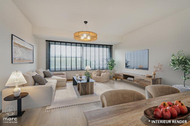 Magnifiek gerenoveerd 3-slaapkamer appartement vlakbij centrum Kuringen