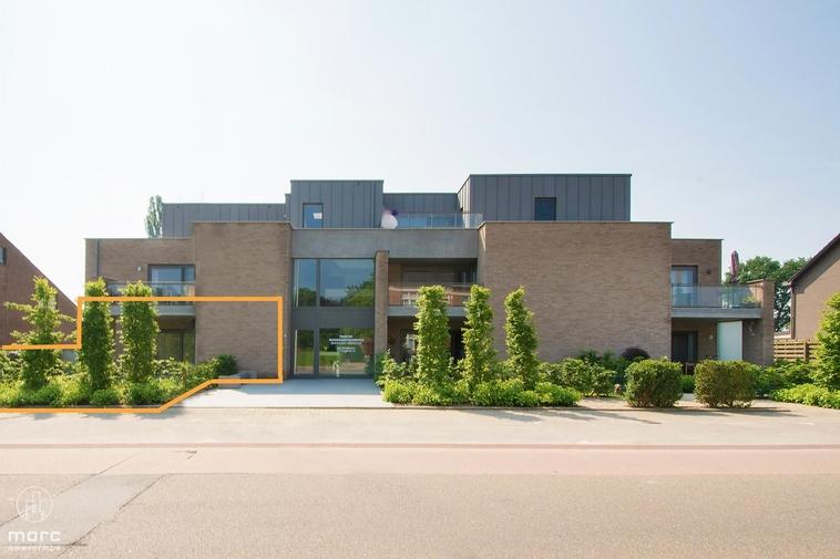 Prachtig gelijkvloers nieuwbouwappartement met 2 slaapkamers in Eversel