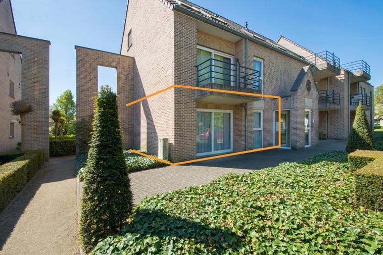Gelijkvloers appartement met twee slaapkamers en zuidgericht terras te Heusden-Zolder