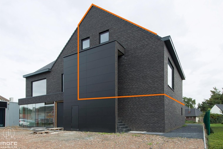 Nieuwbouwappartement met twee slaapkamers
