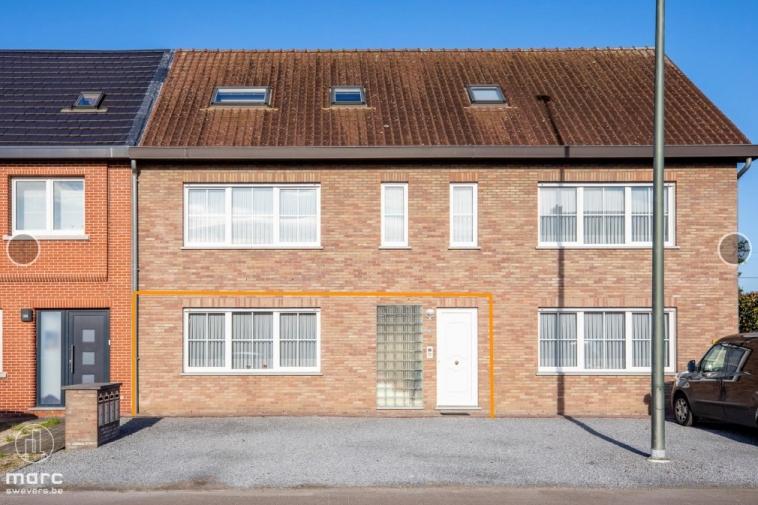 Nieuwe prijs |Gelijkvloers appartement (106 m²) met terras, garage en kelderberging