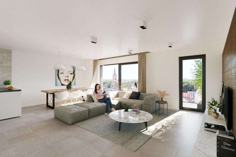Nieuwbouw appartement zuidgericht| twee slaapkamers & ruim terras