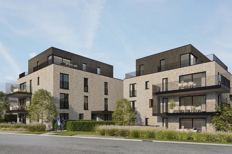 Lichte penthouse, nieuwbouw met een ruim terras