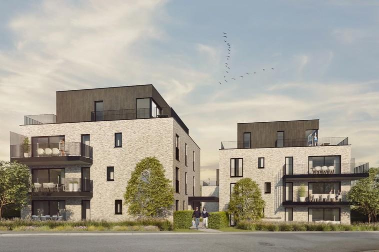 Luxueus gelijkvloersappartement met zuidelijk georiënteerd terras