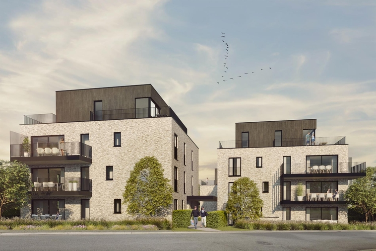 Licht nieuwbouwappartement | twee slaapkamers, westelijk georiënteerd terras & een topligging