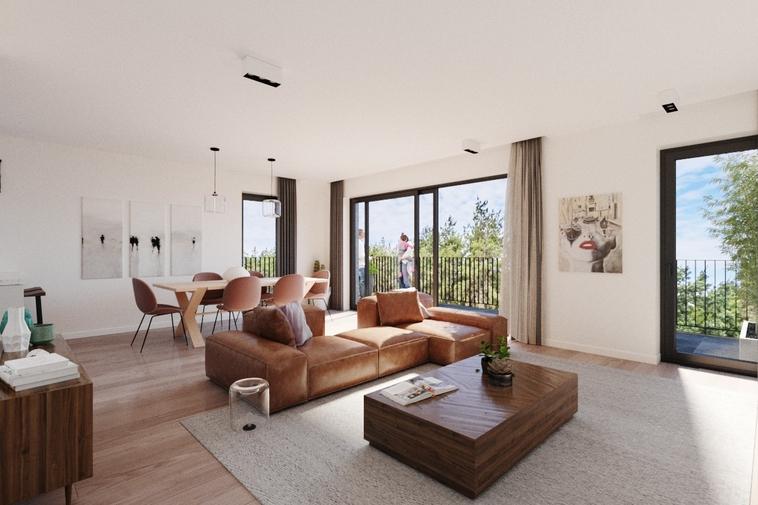 Luxe nieuwbouwappartement met ruim terras