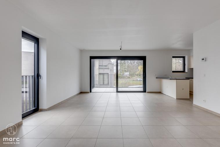 Te huur Knap nieuwbouwappartement met 2 slaapkamers en fijn terras in centrum Lummen