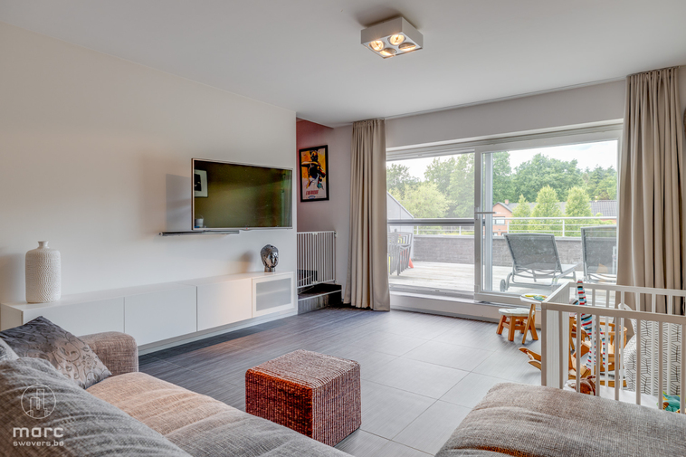 Magnifiek duplex appartement met 3 slaapkamers in het hartje van Bolderberg