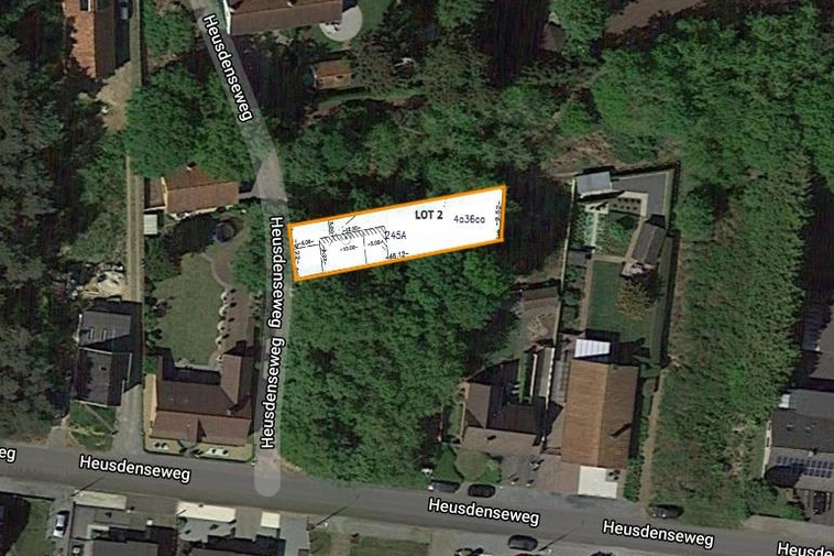 Rustig gelegen bouwgrond (4a 36ca) voor HOB in Beringen