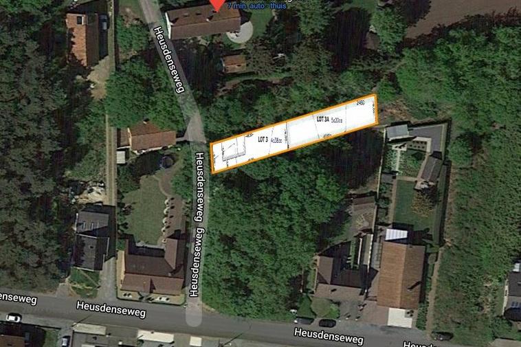 Riante bouwgrond van 9a 58ca voor half open woning in Beringen