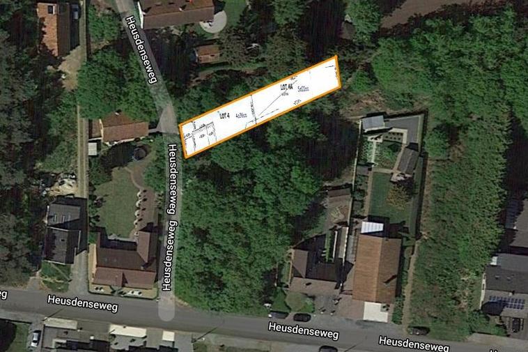 Schitterende bouwgrond (9a 58ca) in rustig doodlopend straatje vlakbij het centrum van Beringen