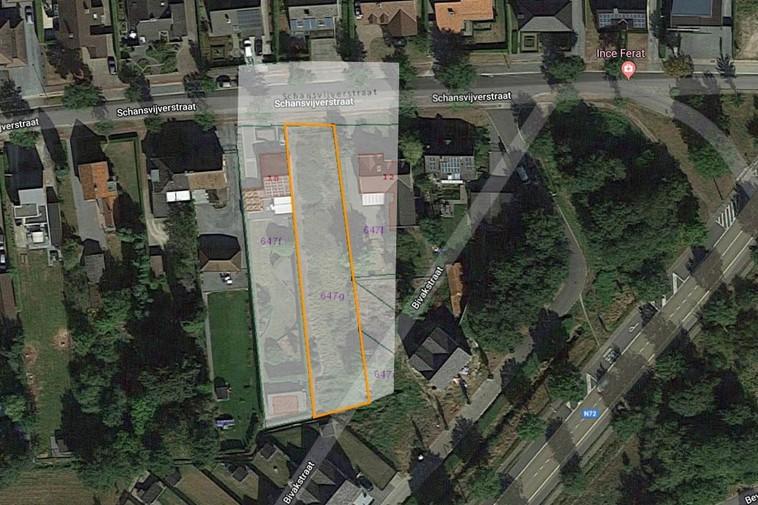 Bouwgrond voor halfopen bebouwing in Beverlo met zuidelijke oriëntatie