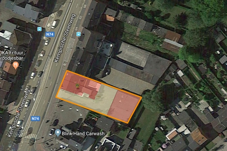 Knappe projectgrond (8a 31ca) op gunstige ligging in Hasselt