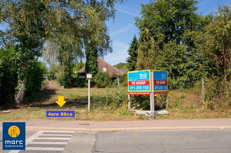 Verkocht⎜Bouwgrond voor halfopen bebouwing vlakbij centrum van Heusden