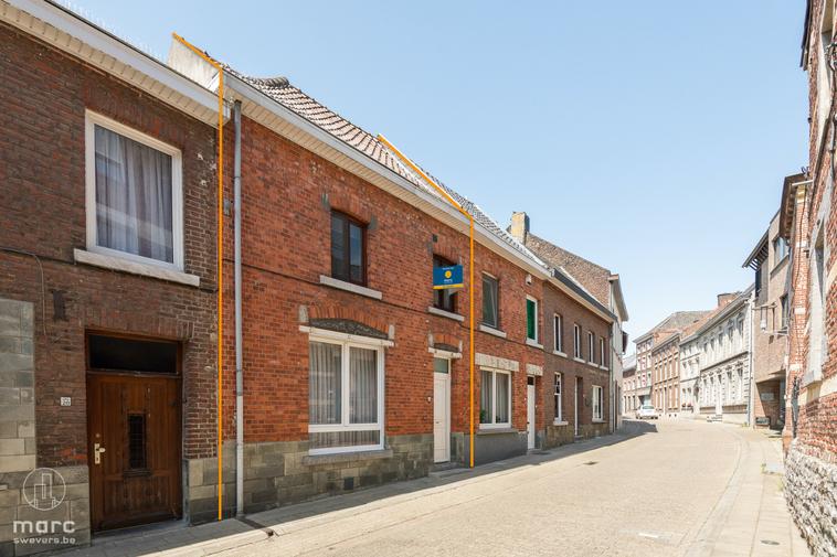 Rijwoning met 3 slaapkamers en binnentuin op centrale locatie in prachtig Haspengouw