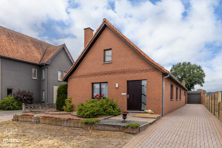 Gunstig gelegen woning met knappe zuidwestelijk georiënteerde tuin in Zonhoven
