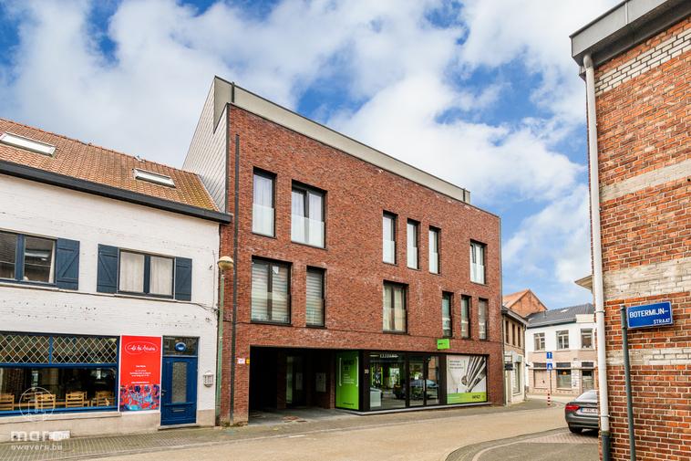 Penthouse van 99,70 m² met twee(!) grote terrassen in hartje Beringen