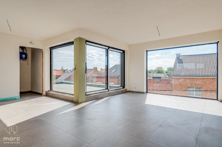 Penthouse met drie slaapkamers in Haspengouw volledig afgewerkt zoals jij het wil